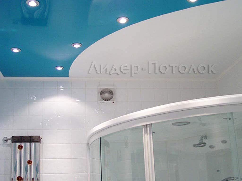 Дизайн натяжных потолков фото для ванной