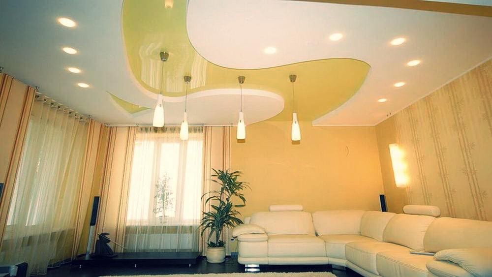 Потолок как сделать красиво