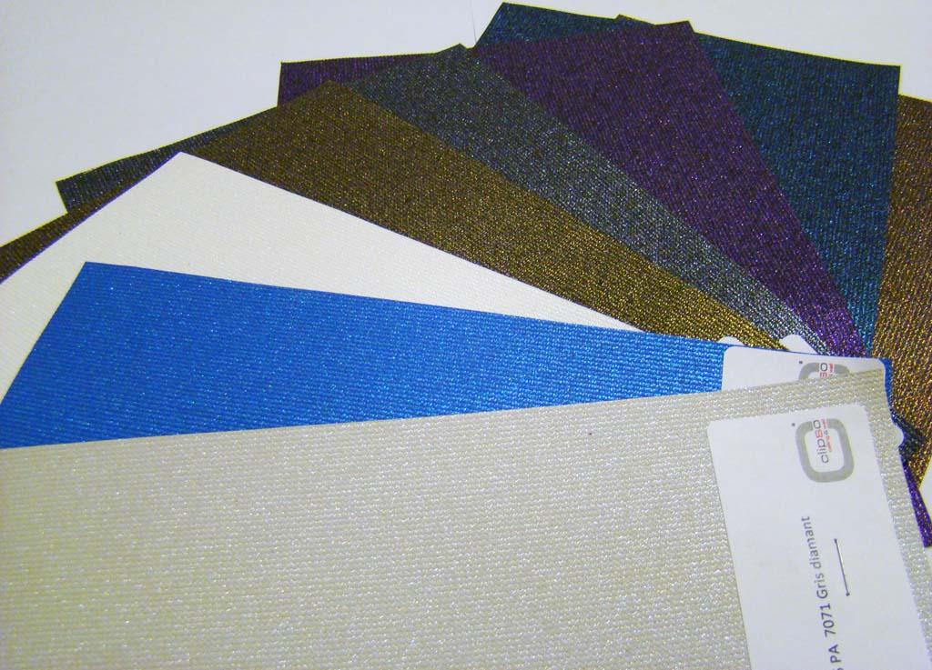 Натяжные потолки Clipso - цветовая палитра
