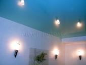 Натяжной потолок в бассейне в частном доме